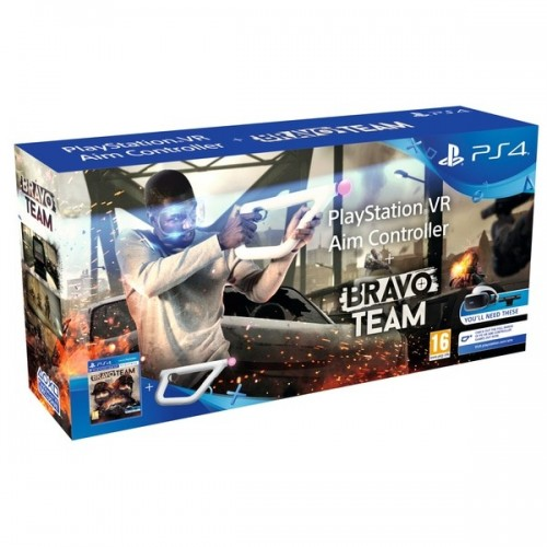 Juego Ps4 Bravo Team VR + Aim Controller