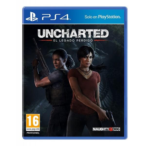 Juego PS4 Uncharterd El Legado Perdido