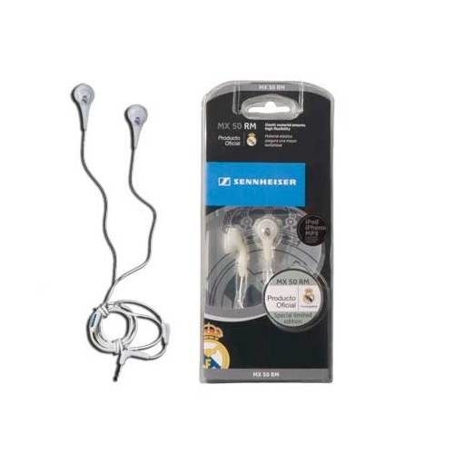 Auriculares Sennheiser Mini Real Madrid MX50RM