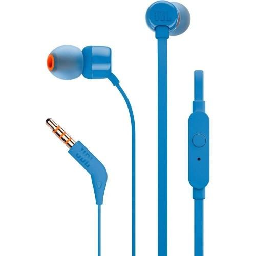 Auriculares JBL T110 Mic Azul