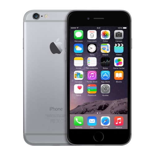 "Móvil iPhone 6  / 16GB / 1GB RAM / Gris Espacial / HD 4,7"" / 8 mpx"