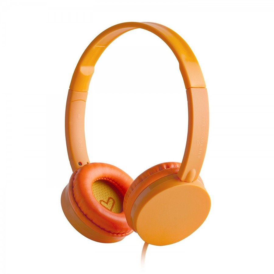 AURICULARES ENERGY COLORS TANGERINE MICROFONO