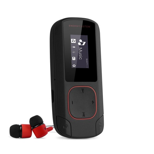 Mp3 Energy Sistem Clip Bluetooh 8GB Rojo Coral