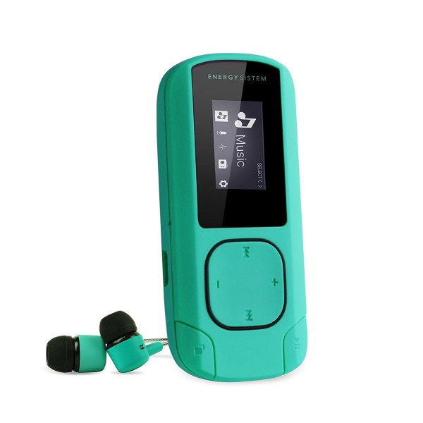 Mp3 Energy Sistem Clip 8GB Verde Menta