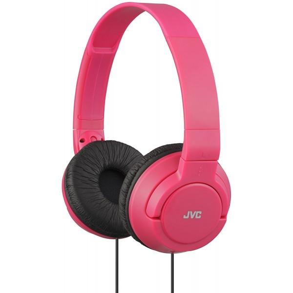 Auriculares JVC Powerful Bass HA-S180-R Rosa