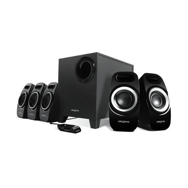 Altavoces Creative Labs Inspire T6300 5.1 Negro