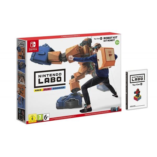 Switch Nintendo Labo Kit Robot Toy-Con 02