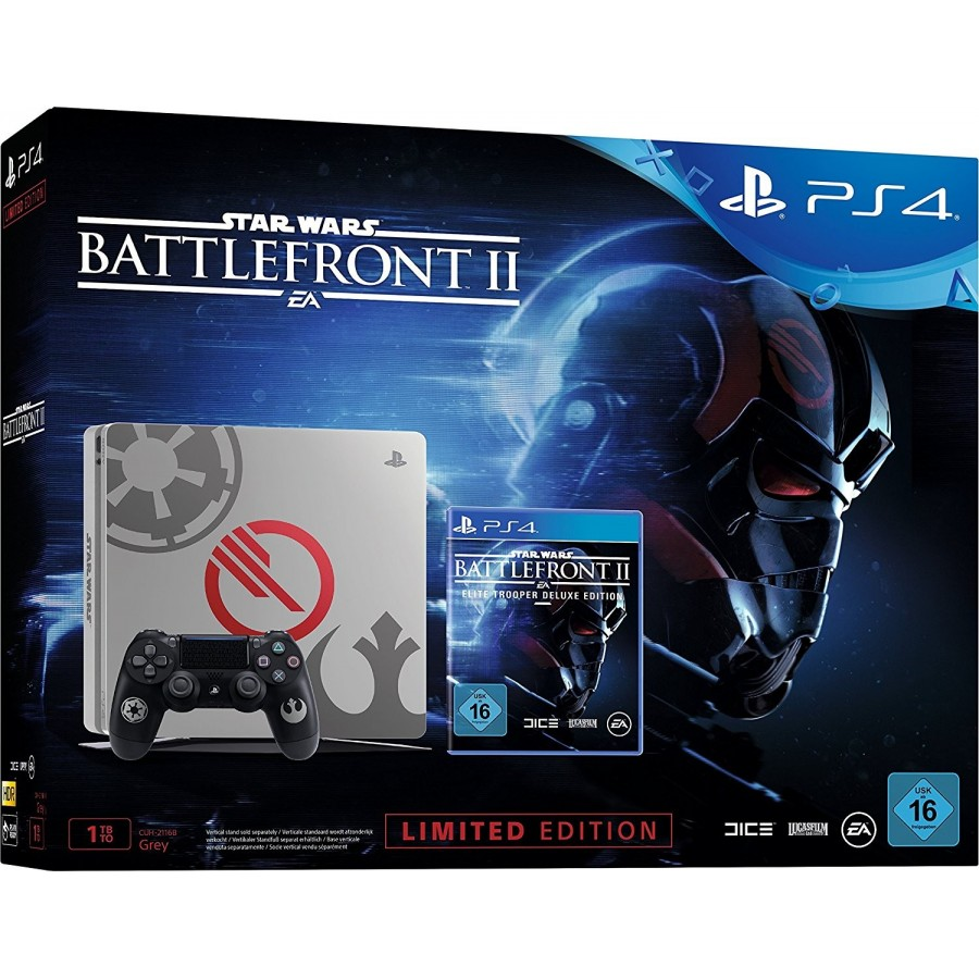 CONSOLA PS4 STAR WARS BATTLEFRONT II ED LIMITADA