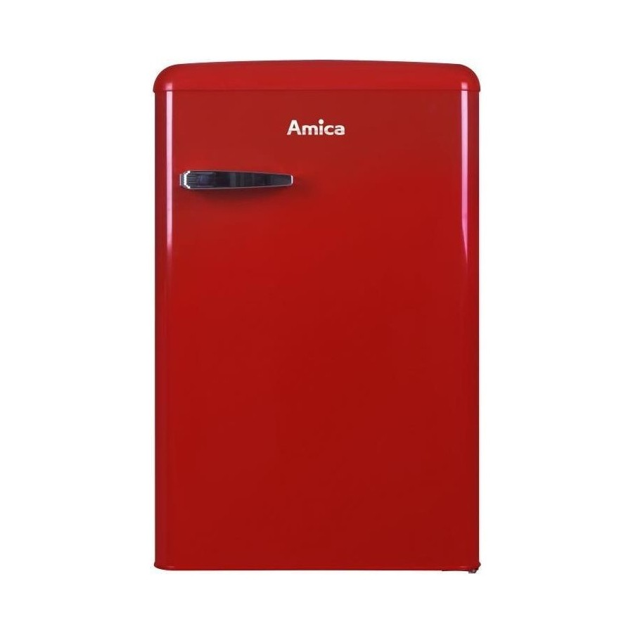 FRIGO AMICA KS 15610 R 1P/106L/55x86cm/ROJO/A++