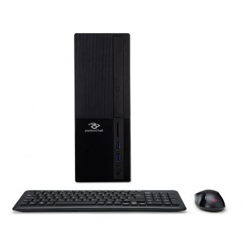Torre Pc Sobremesa Packard Bell iMedia iMdS3730 Procesador J3355 4GB Ram 1TB Windows 10 home