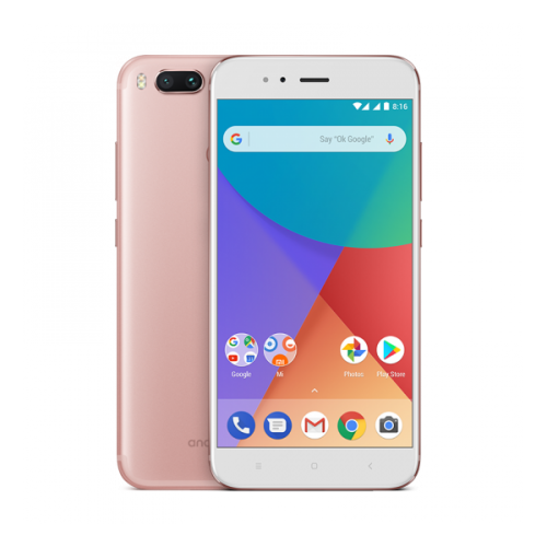 "Móvil Xiaomi Mi A1 5.5"" 4GB 64GB Rose Gold"