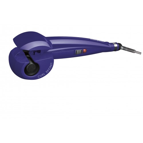 BaByliss C904PE Automatic curling iron Púrpura Utensilio de peinado