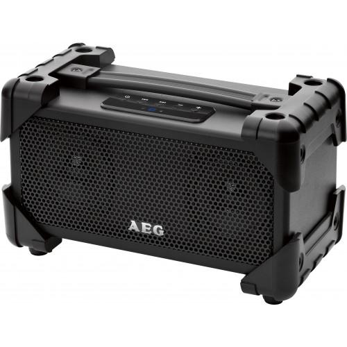 AEG BSS 4800 Altavoz portátil estéreo Negro