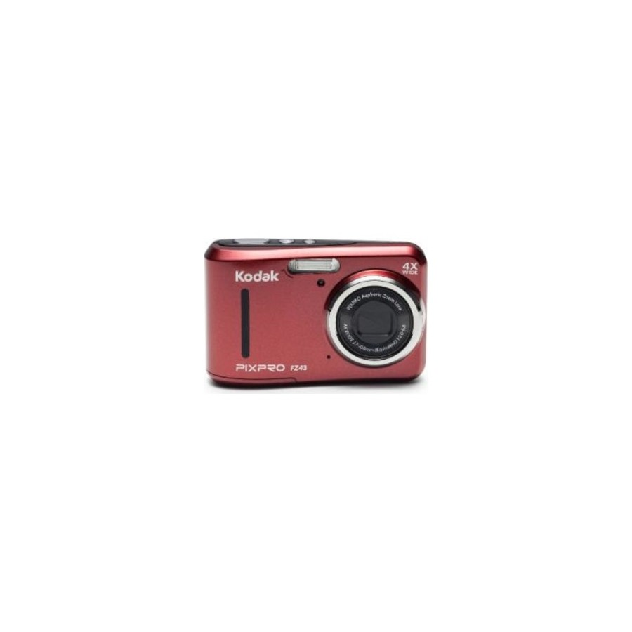 "Kodak FZ43-RD Cámara compacta 16.15MP 1 2.3"" CCD 4608 x 3456Pixeles Rojo compact camera"