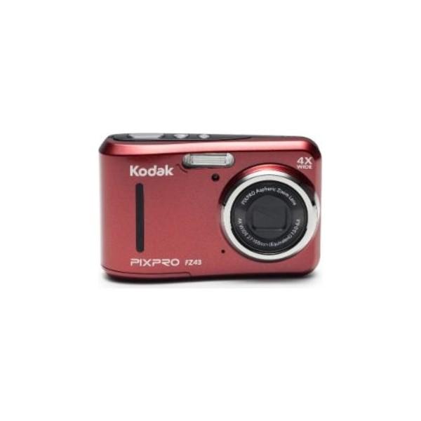 "Kodak FZ43-RD Cámara compacta 16.15MP 1/2.3"" CCD 4608 x 3456Pixeles Rojo compact camera"