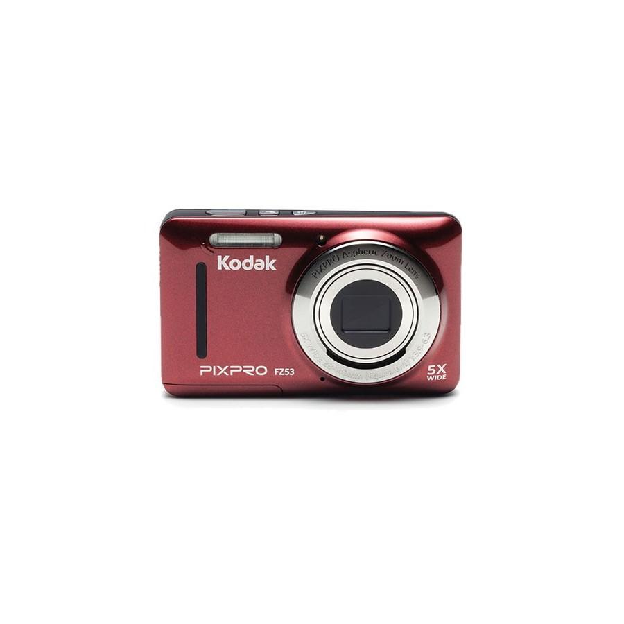 """Kodak PIXPRO FZ53 Cámara compacta 16MP 1 2.3"""" CMOS 4608 x 3456Pixeles Rojo"""