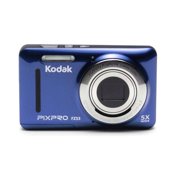 """Kodak PIXPRO FZ53 Cámara compacta 16MP 1/2.3"""" CMOS 4608 x 3456Pixeles Azul"""