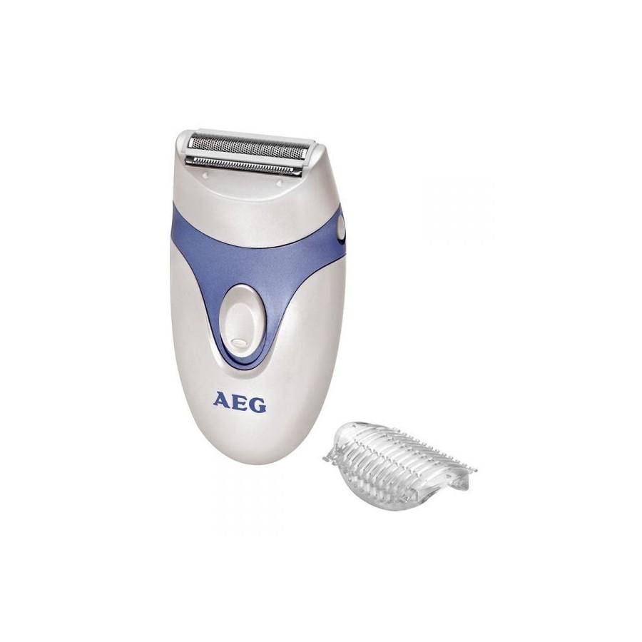 AEG LS 5652 1head(s) Recortadora Azul, Color blanco maquinilla de afeitar para mujer