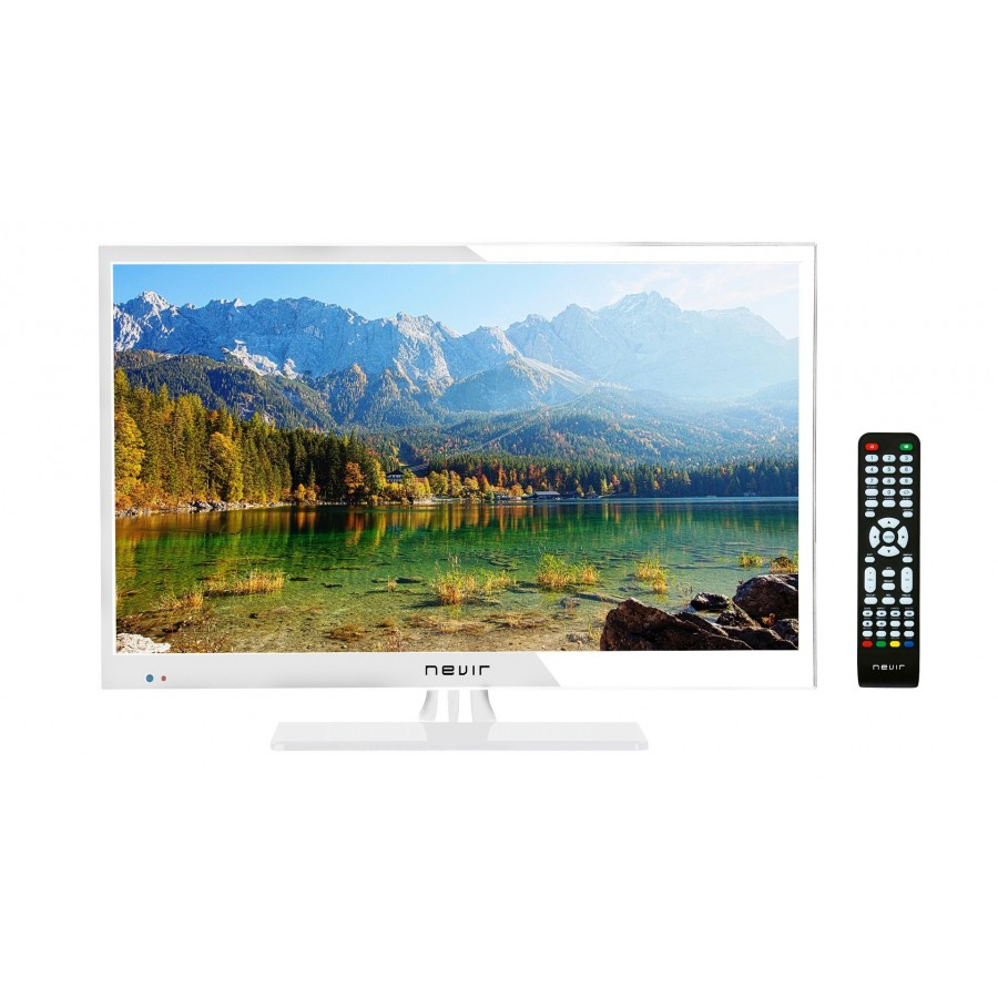 TELE NEVIR 22 LED 7508 USB HD 12V BLANCO