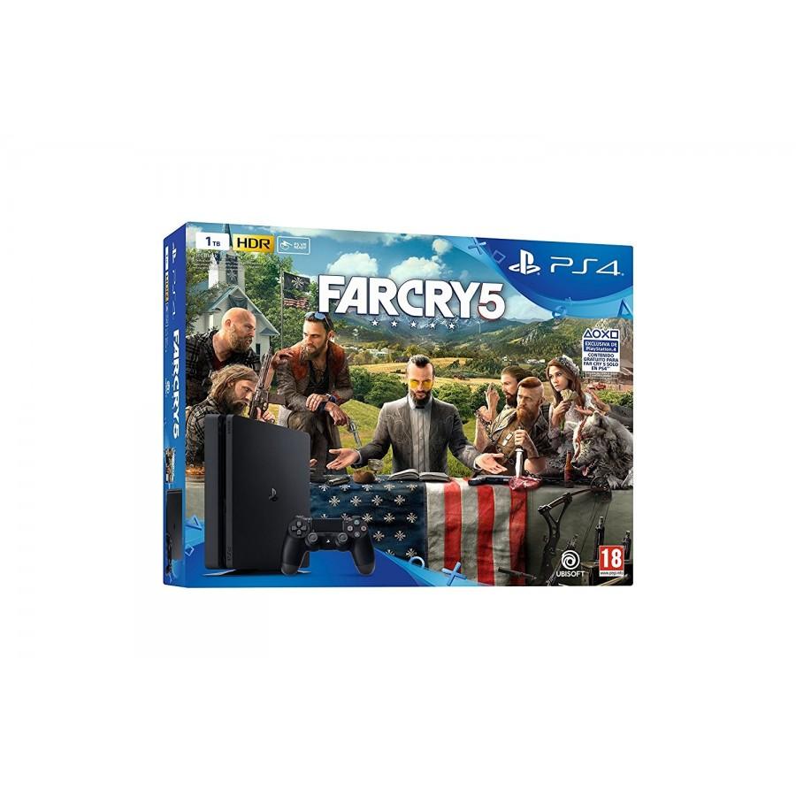 CONSOLA PS4 SLIM 1TB + FARCRY 5