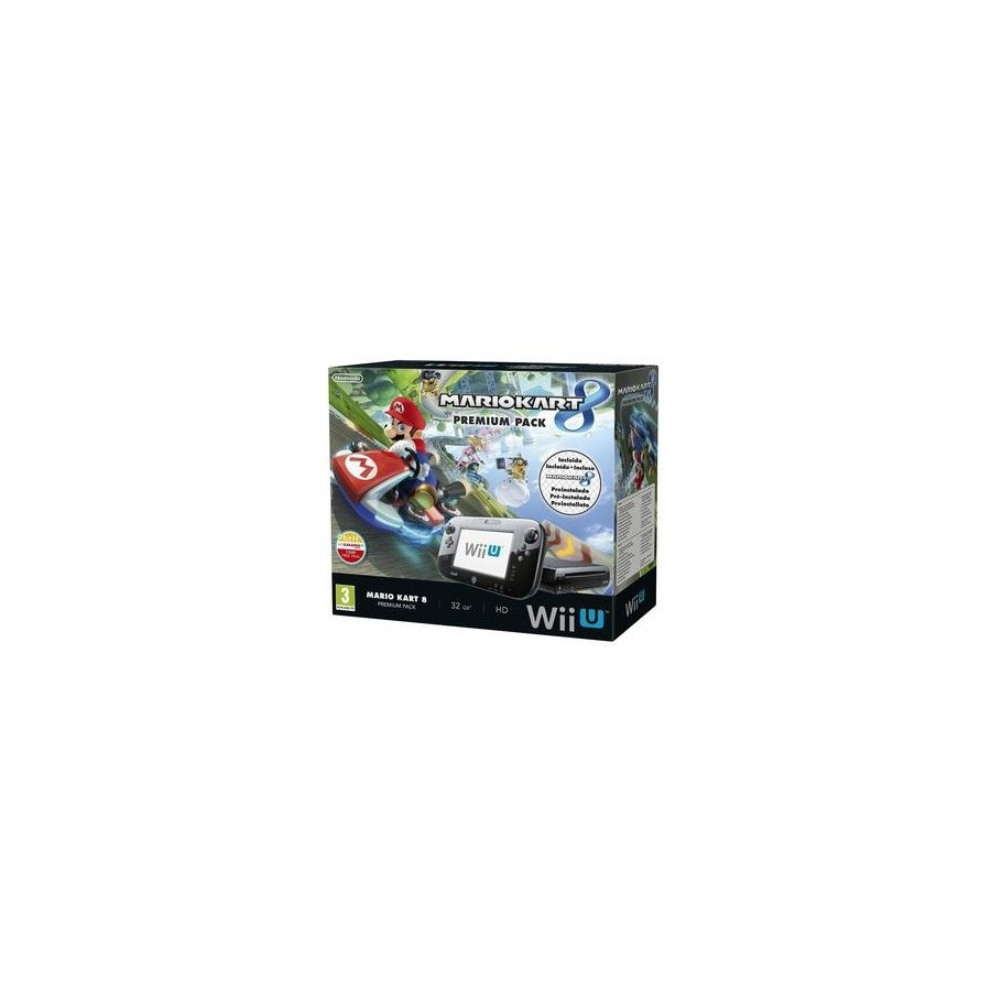 Consola Nintendo / Wii U Premium 32Gb + Mario Kart 8