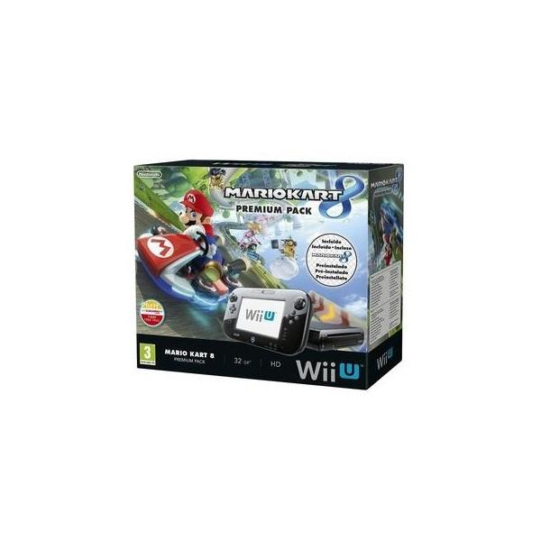Consola Nintendo / Wii U Premium / 32Gb / Mario Kart 8 / GamePad