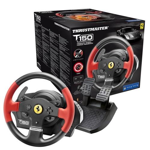 Thrustmaster T150 Ferrari Edition - Volante - PS4/PS3/PC - Force Feedback