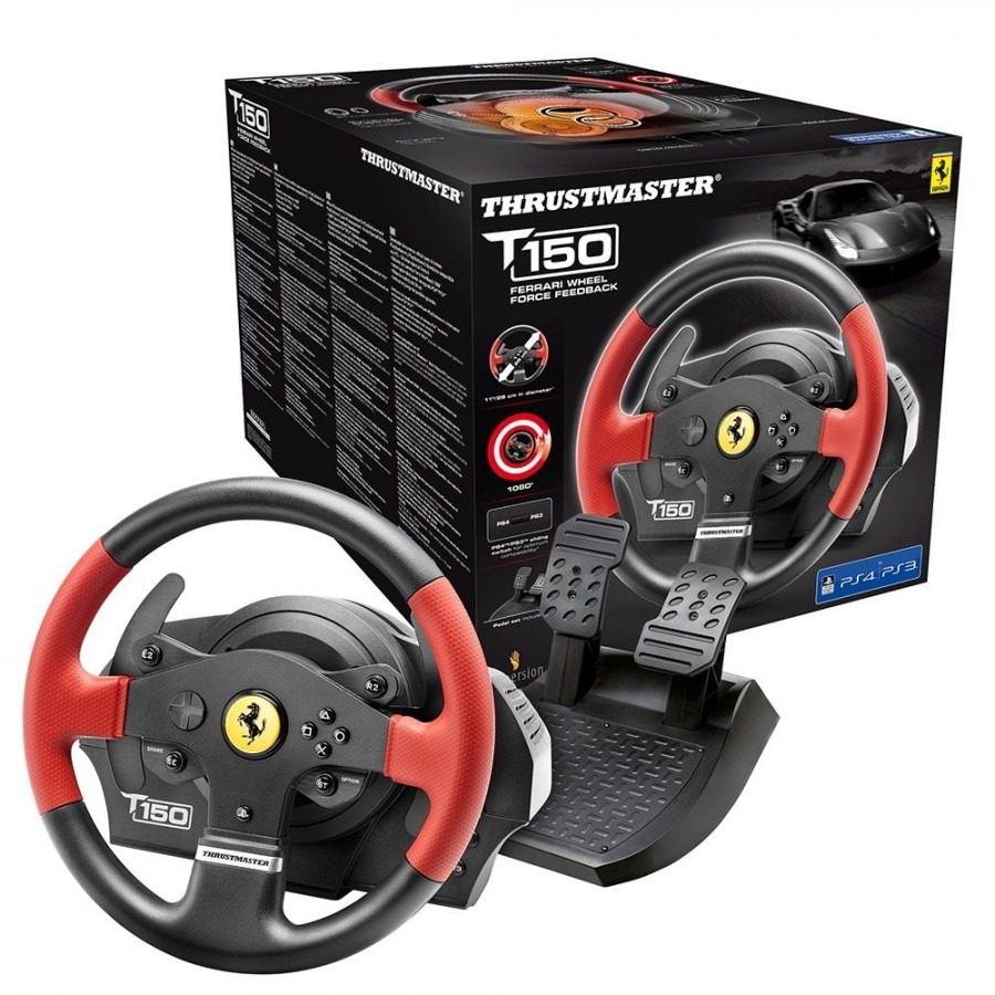 THRUSTMASTER VOLANTE FORCE FEEDBACK T150 FERRARI