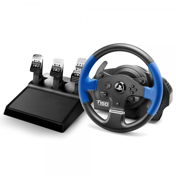 Thrustmaster T150RS Pro - Volante - PS4/PS3/PC - Force Feedback - 3 Pedales