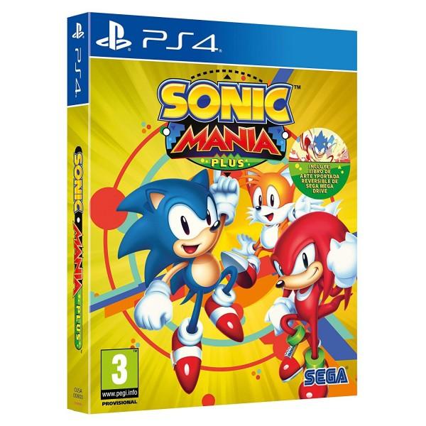 Juego Ps4 Sonic Mania Plus