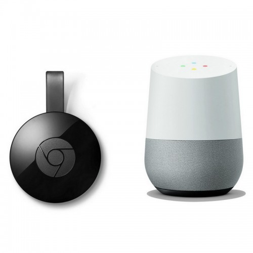 Pack Google Home + Google Chromecast 2