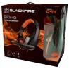 Auriculares Ardistel Blackfire BFX-10 Gaming Ps4 Negro/Naranja
