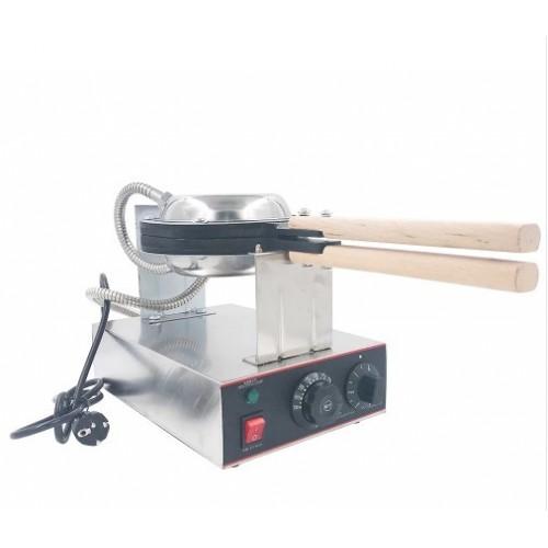 Maquina de Waffle Buble Waffle 220V / 110V Inox