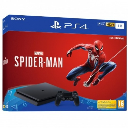 Consola Ps4 Slim 1TB + Marvel's Spider-Man