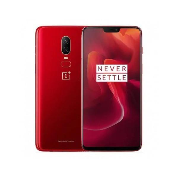 "Móvil OnePlus 6 6.2"" 8GB 128GB Red"
