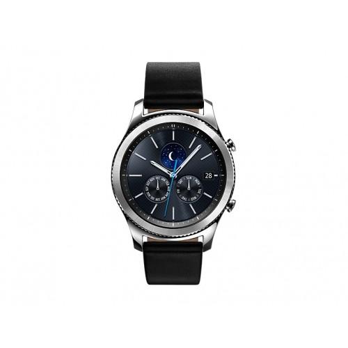 "Samsung Gear S3 Classic Silver SM-R770 1.3"" SAMOLED Plata GPS (satélite) reloj inteligente"