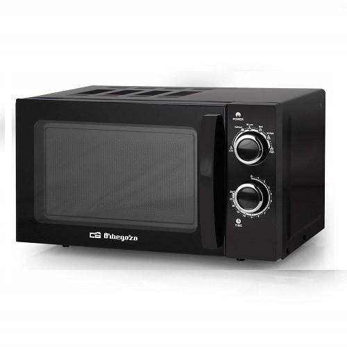 Microondas Orbegozo MI2017 Sin Grill 20 Litros 700W Negro