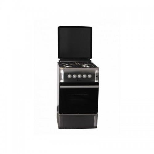 Cocina Telefac TFF5604X 4 Fuegos Gas+Horno A Gas Inox
