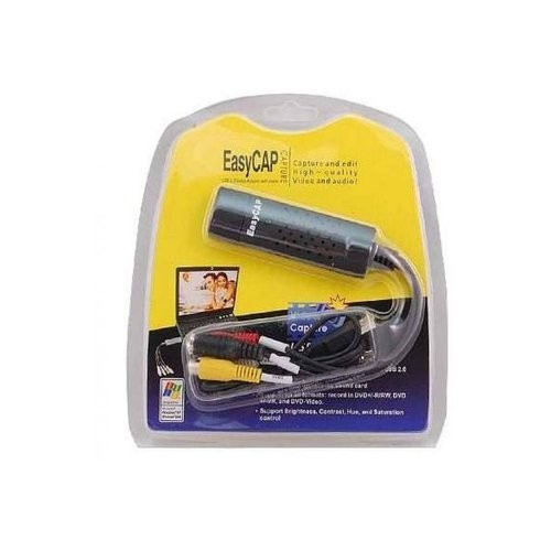 Capturador de Video Easy Cap Rca/s-Video In