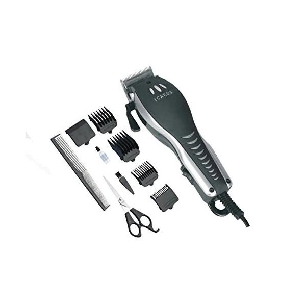 Corta Pelo Icarus IC-5204 Con Cable Set 4