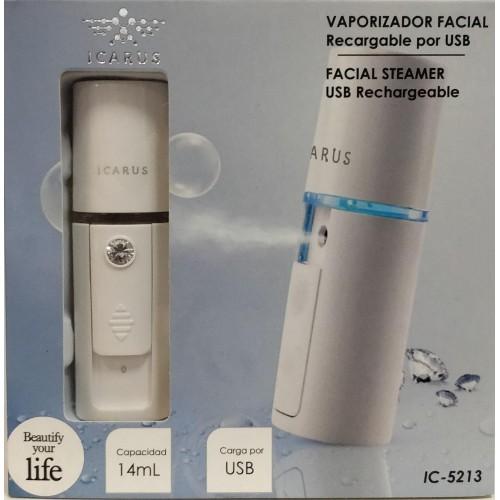 Vaporizador Facial Icarus IC-5213 Recargable