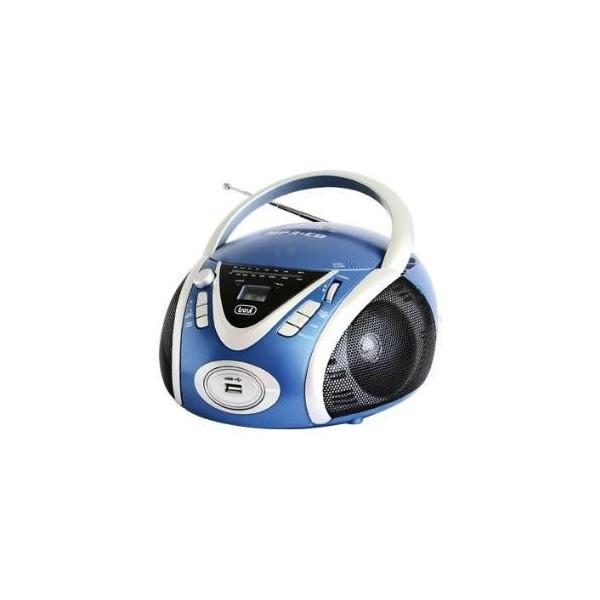 Radio CD Portátil Trevi CMP 542 USB Azul