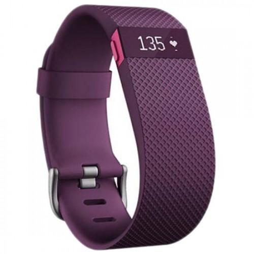 Smartband Fitbit Charge HR Talla L color Lila