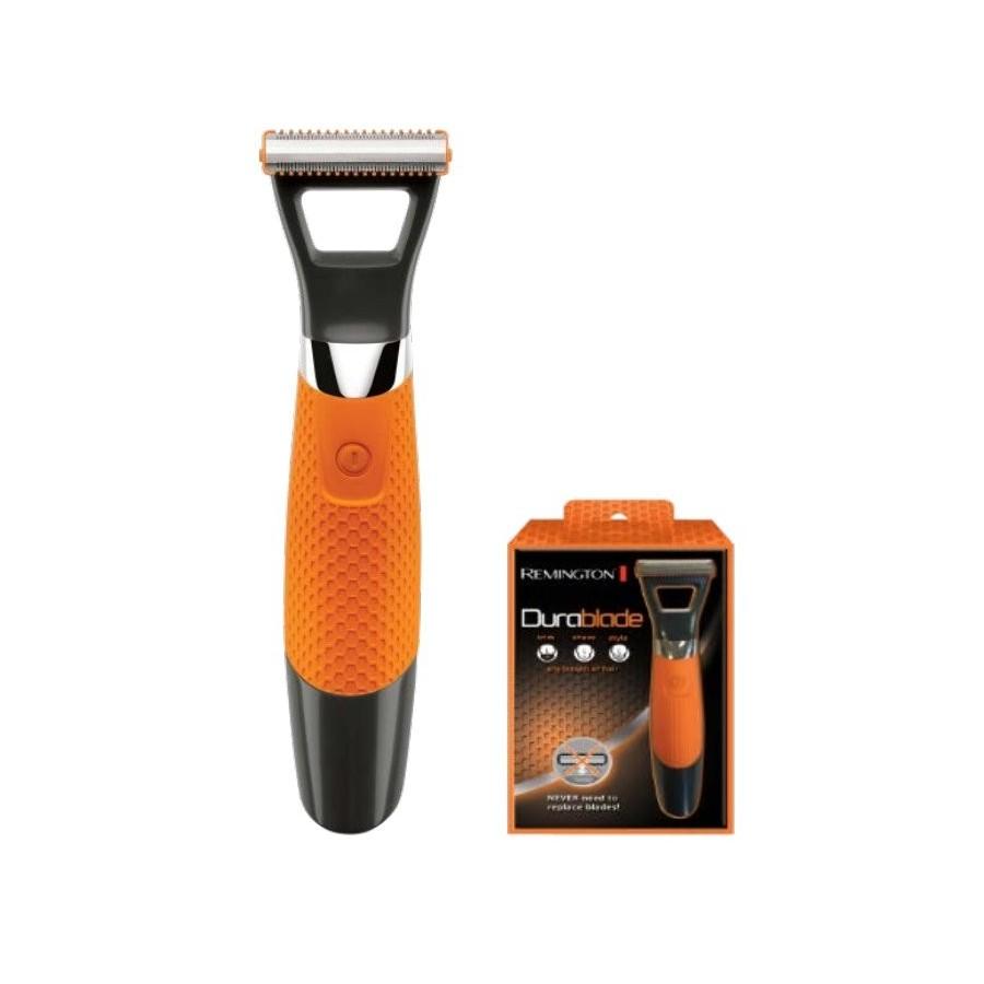 Remington MB050 afeitadora corporal Negro, Naranja, Plata