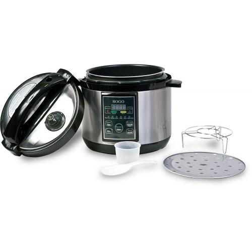 Robot de Cocina Sogo SS-10765 Multifunción 860W