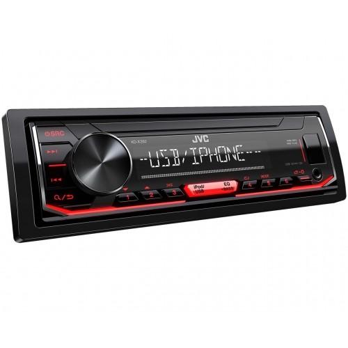JVC KD-X262 Negro, Rojo 200 W