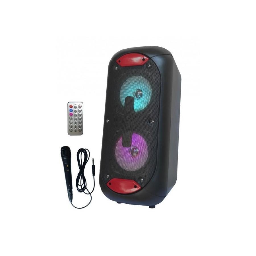 ALTAVOZ ICAROTECH SS16 5/10W/BT/FM/MIC/USB/LED