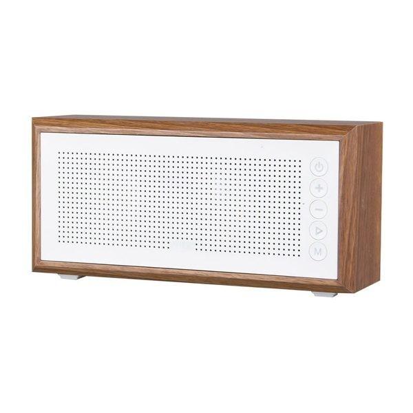 Altavoz MTK FT802 BT/MIC/FM/SD/Madera