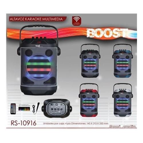 Altavoz Sami RS-10916 Boost Karaoke Compact