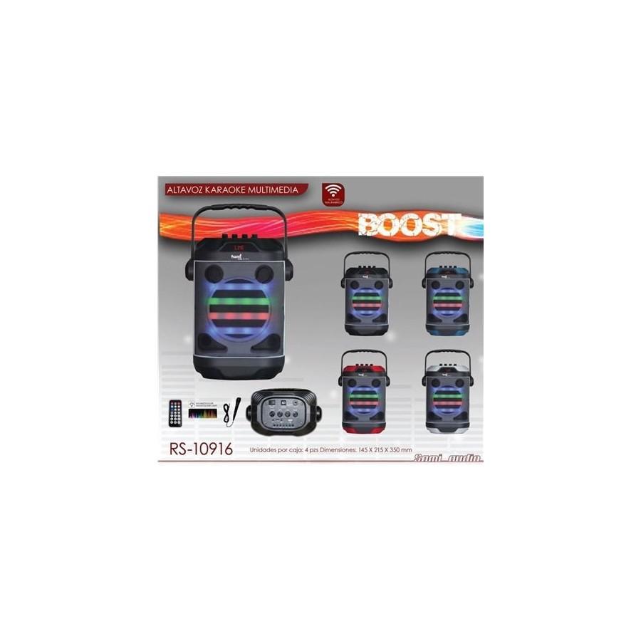 Altavoz Sami 10916 Boost Karaoke Compact